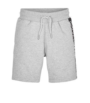 Calvin Klein Boys Hero Logo Sweatshort 0484 Grey Heather