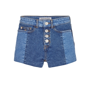 Calvin Klein Girls Relaxed Shorts 0447 Upcycle Denim