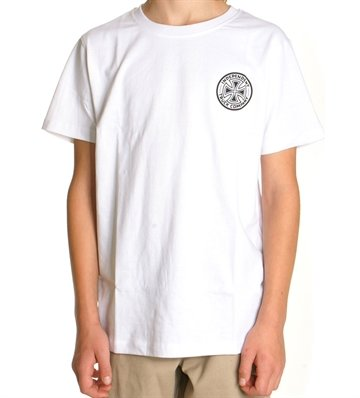 Independent T-shirt Youth Colours White