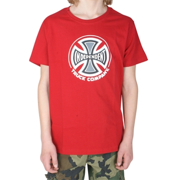 Independent T-shirt Youth Truck Co. Red