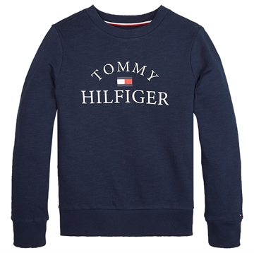 Tommy Hilfiger Sweatshirt Boys Logo Twilight Navy