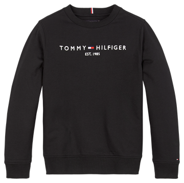 Tommy Hilfiger Sweatshirt CN Essential 05797 Black