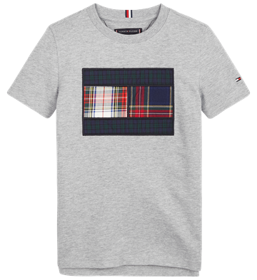 Tommy Hilfiger Boys T-shirt 06113 Mixed Check