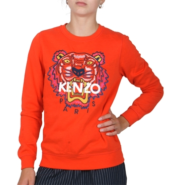 KENZO Sweat Tiger JG4 Vemilion red KM15198