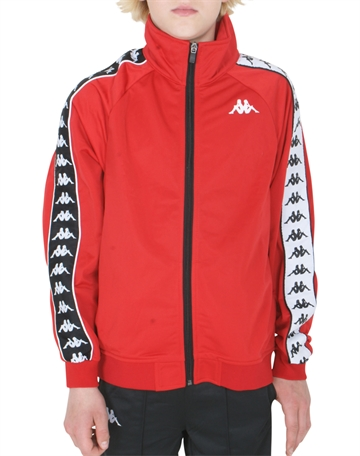 Kappa Track Jacket Red-Black-White