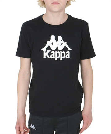 Kappa T-shirt Black White