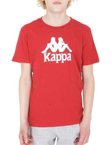 Kappa T-shirt Red White