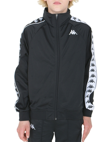 Kappa Track Jacket Black-White