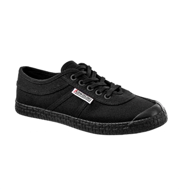 Kawasaki Sko Original Canvas Black Solid