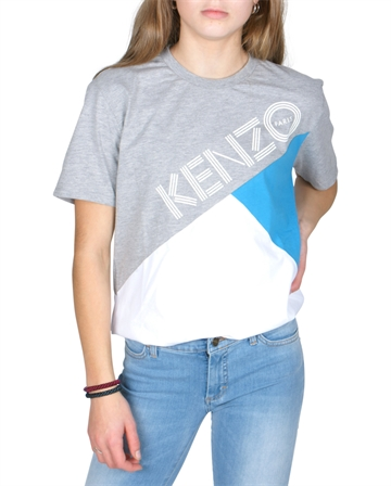 Kenzo T-shirt White Pieced 10668