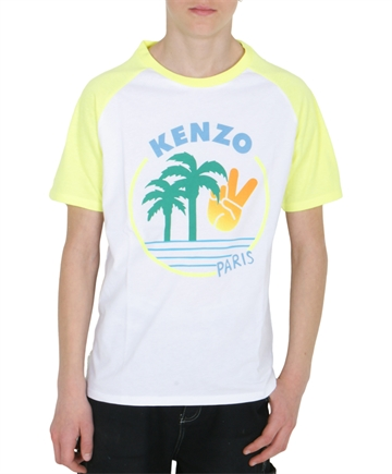 Kenzo T-shirt Jonas Optic White KQ10508