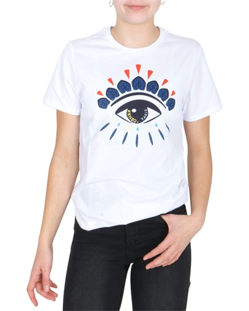 Kenzo T-shirt Flavio KN10508 Optic White. Front & Back