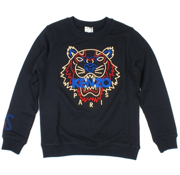 Kenzo Sweatshirt Tiger Black KP15278 Limited edition.