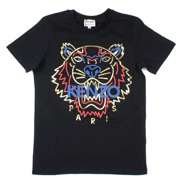 Kenzo T-shirt Tiger Black KP15728 Limited Edition
