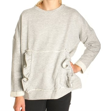 LMTD Sweat Nitninnet grey melange