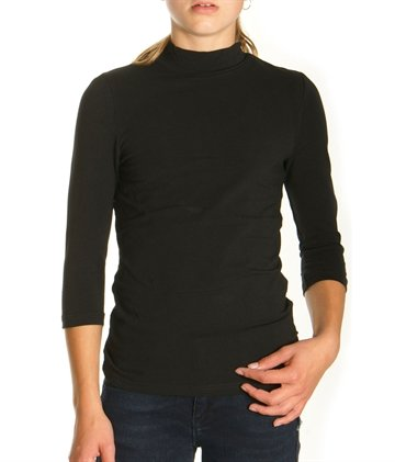 LMTD Girls Top NINIXIE turtle neck all black