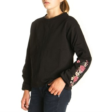 LMTD Girls Top sweat NLFELJA Black