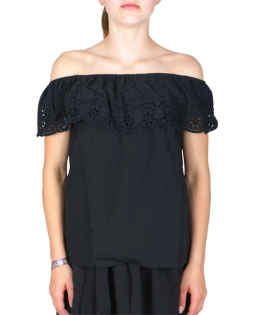 LMTD Girls off shoulder black