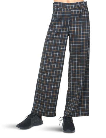 LMTD Girls Pants Juliane Black Check