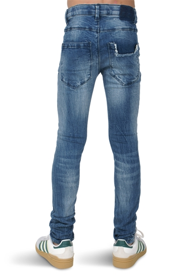 LMTD Boys Jeans Skinny Med Blue denim