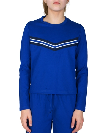 LMTD Girls Top Sajosse Sweat Top True blå
