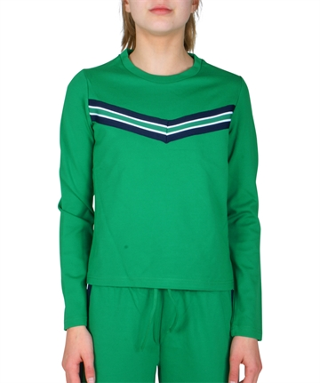 LMTD Girls Top Sajosse Sweat Top True grøn
