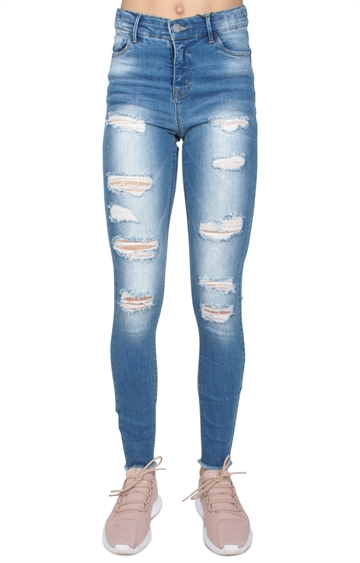 LMTD Girls Jeans Pil light blue denim