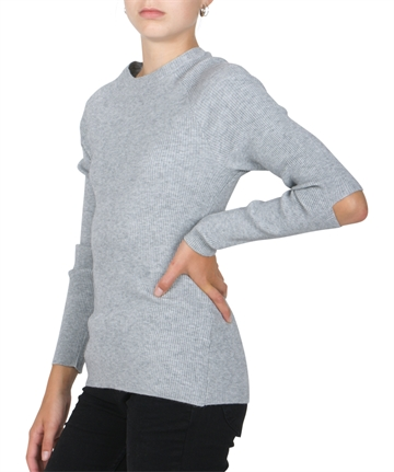 LMTD Girls Top Nilli Grey Melange