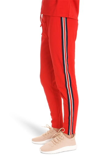 LMTD Girls Pants Sajosse Sweat True Red