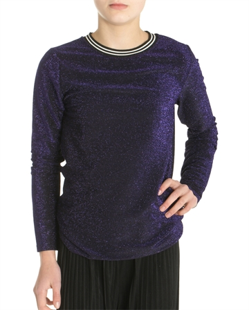 LMTD Girls Glitter Top Pansy lilla