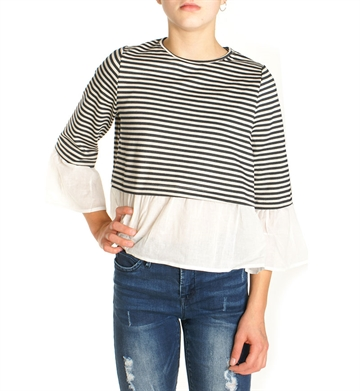 LMTD  Sweat 3/4 NLF Solange stribet