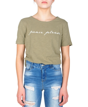 LMTD Girls Top Rafaela s/s Dusky Green