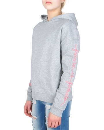LMTD Girls Sweat Hoodie Nasha grey melange