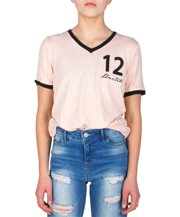 LMTD Girls Top Rache Rose Smoke