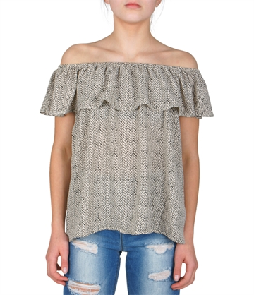 LMTD Girls Top Rakel s/s Snow white