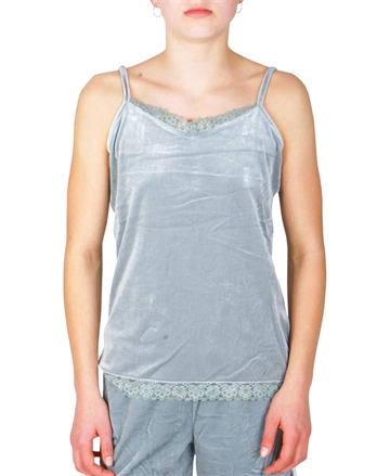 LMTD Girls  top velvet gray mist