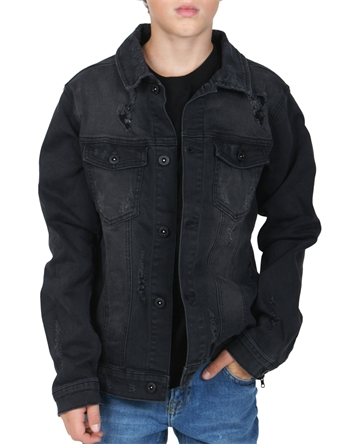 LMTD jakke Black denim Jacket