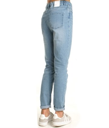 LMTD Girls Jeans nlfrine pant blue wash
