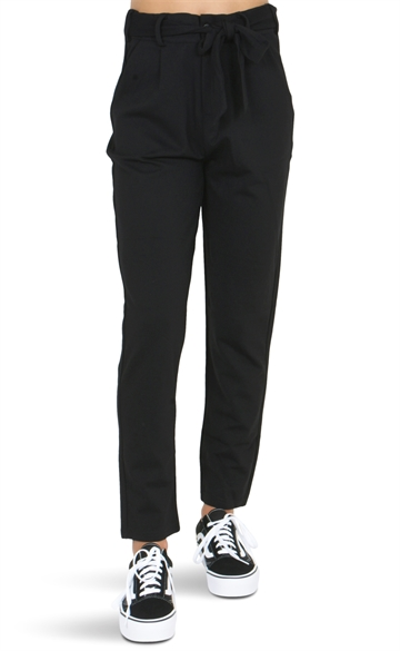 LMTD Girls Pants Ancle NLFJOSSEOMA Black