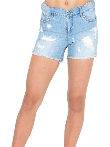 LMTD Girls Denim Shorts Raven