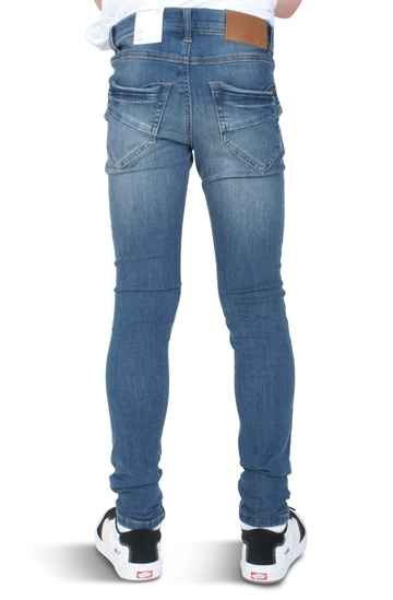 LMTD Jeans Pilou Medium Blue Denim Skinny Fit