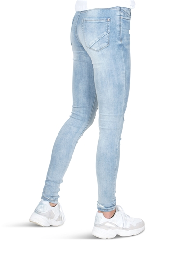 LMTD Ancle Pant Pil  blue used wash