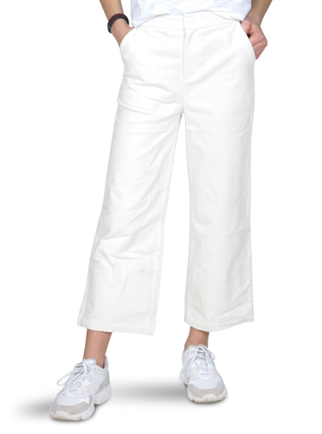 Grunt Girls pants Wide leg Corduroy Off White