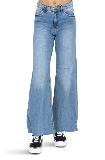 LMTD Girls Wide Pant NLFATERETE Denim