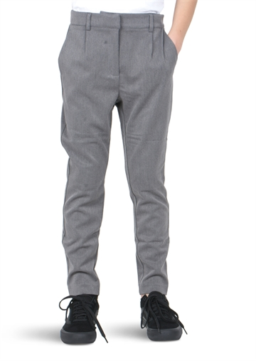 LMTD Slim Pant Regin Grey Melange