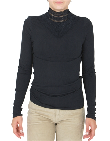 LMTD Bridget l/s Top Black
