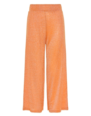 LMTD Bukser Wide Culotte Julia Sun Orange