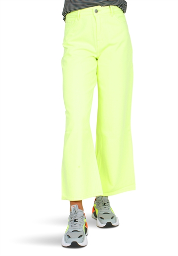 LMTD Fizza Twi Wide 7/8 Pant Safety Yellow
