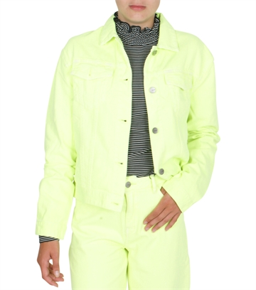 LMTD Fizza Twill Jacket Safety Yellow
