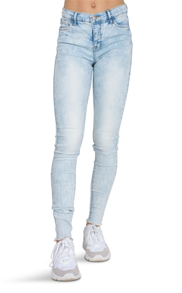 LMTD Girls Jeans Ancle Pil light blue denim